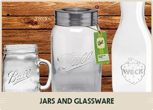 JARS AND GLASSWARE