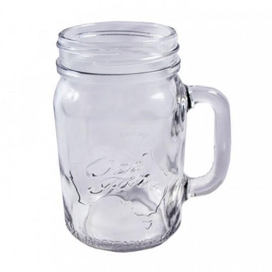 1 x Handle Jar Ozi Jar Pint Beer Moonshine SINGLE