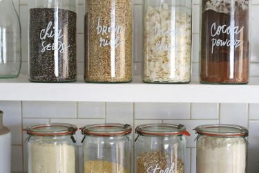 Redoing your pantry: just what jars to buy!?