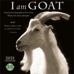 I am Goat Wall Calendar 2021