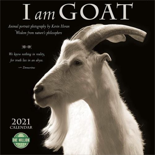 I am Goat Wall Calendar 2021