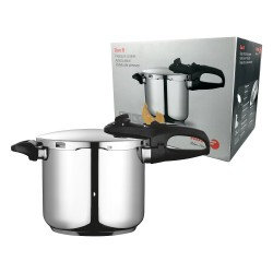 Fagor Duo 8 Stainless Steel Pressure Cooker 7.5l