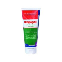 Rapigel 200g Squeeze Tube for Treatment of Muscle Pain and Arthritis Dogs, Horse