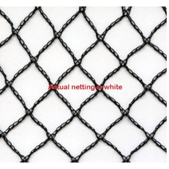 10 x 10m Commercial Grade Bird Net 50gsm