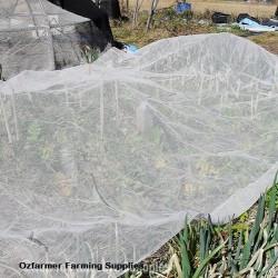 Vege Net White 12m x 10m