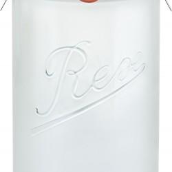 1,050ml (1 litre) Weck Rex Tapered Jar- Case of 6