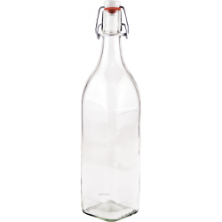 8 x 1 litre Rex juice bottles with Swing Top