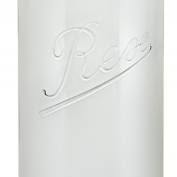 1 x 1,550ml (1.5 litre) Weck Rex Tapered Jar Complete - Single