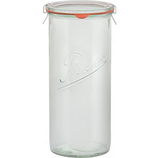 1,550ml (1.5 litre) Weck Rex Tapered Jar - Case of 6