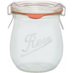 220ml Weck Rex Mini Tulip Jar - Case of 6