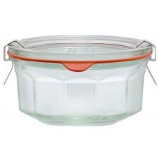 290ml Weck Rex Multi Faceted Jar - Case of 6