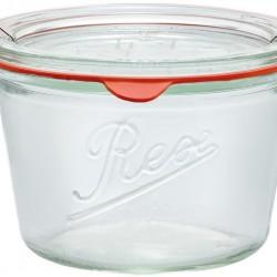 370ml Weck Rex Tapered Jar - Case of 6