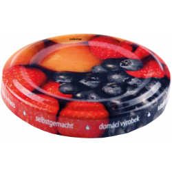 48mm TWIST TOP Lids with Fruit Pattern