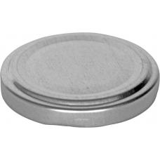 53mm TWIST TOP lid High Heat Silver