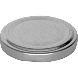 53mm TWIST TOP lid High Heat Silver