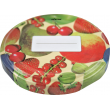 58mm Twist Top Lids with Field Fruit Pattern