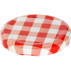 63mm TWIST TOP lids Red/White High Heat