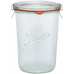 850ml Weck Rex Tapered Jar - Case of 6