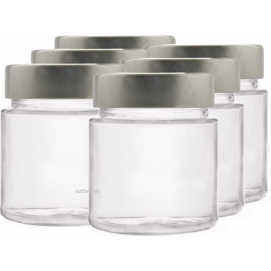145ml Rex Jar with Lid - Pack of 6