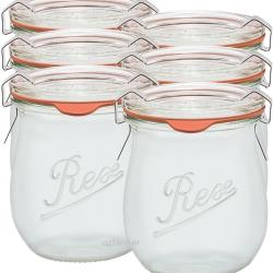 220ml Weck Rex Mini Tulip Jar - Case of 6