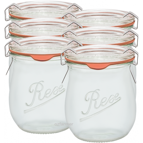 220ml Weck Rex Mini Tulip Jar