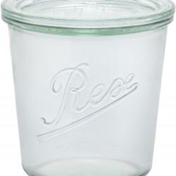 1 x 580ml Rex Tapered Jar- Single