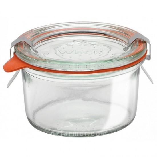 1 x 165ml Weck Tapered Jar Complete - 976 Weck