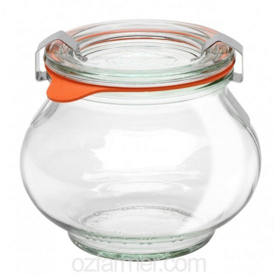 1 x 220ml Deco Jar - 902 Weck