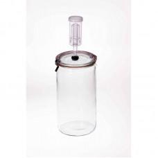 1.5 litre Fermenting Jar With Fermenting Lid Weck Rex