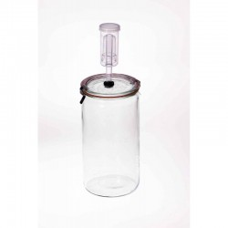 1.5 litre Fermenting Jar With Fermenting Lid Weck Rex
