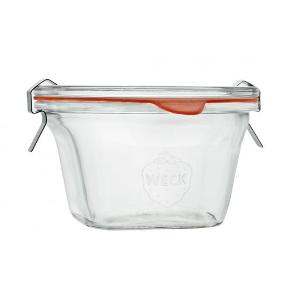 290ml Quadro Jar Only - Single WECK 768