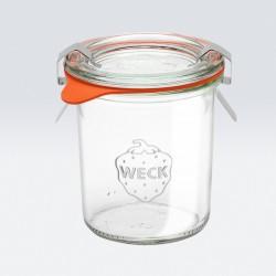 1 x 140ml Mini Tapered Jar Complete- 761 Weck
