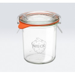 1 x 140ml Mini Tapered Jar Complete- 761 Weck