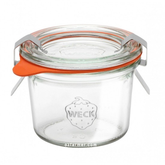12 x 80ml Mini Tapered Weck Jars - 80
