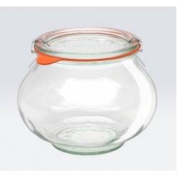 4 x 1 litre Weck Deco Jar - 748 case
