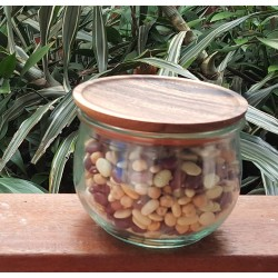 Medium Wooden Lids with Seal to Suit Weck Jars Multi Pack