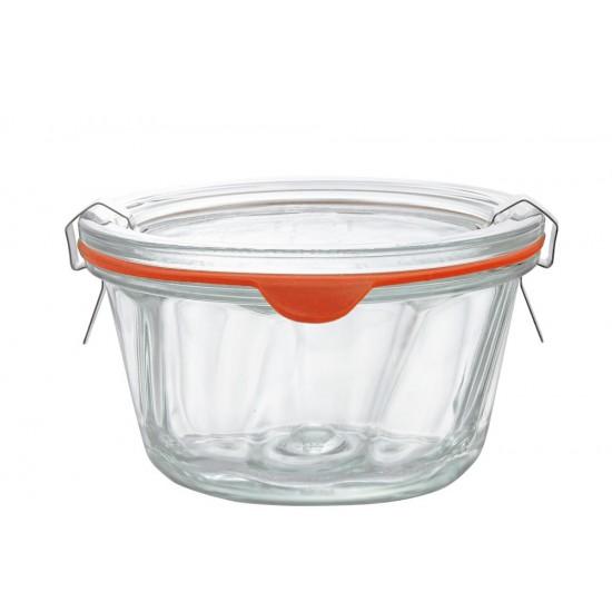 1 x 280ml Gugelhupf Bundt Cake Jar Complete - Single WECK 568