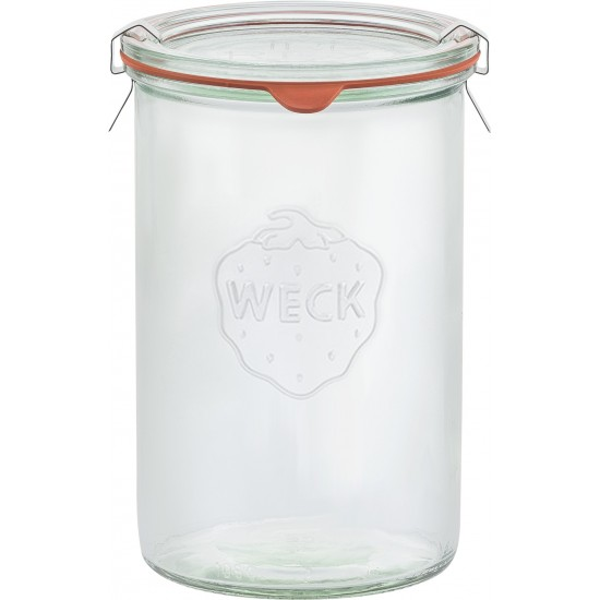 1,050ml (1 litre) Tapered Jar Only - Single - WECK