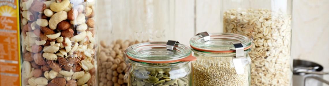 Weck Cylindrical Jars