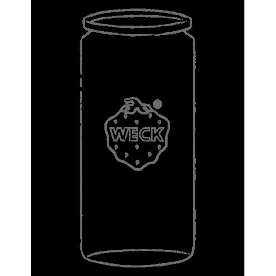 340ml Weck Cylinder Jar