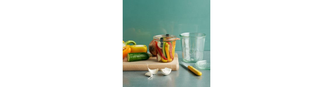 Weck Tapered Jars