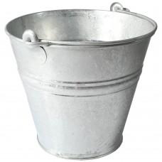 11L Metal Bucket Galvanised