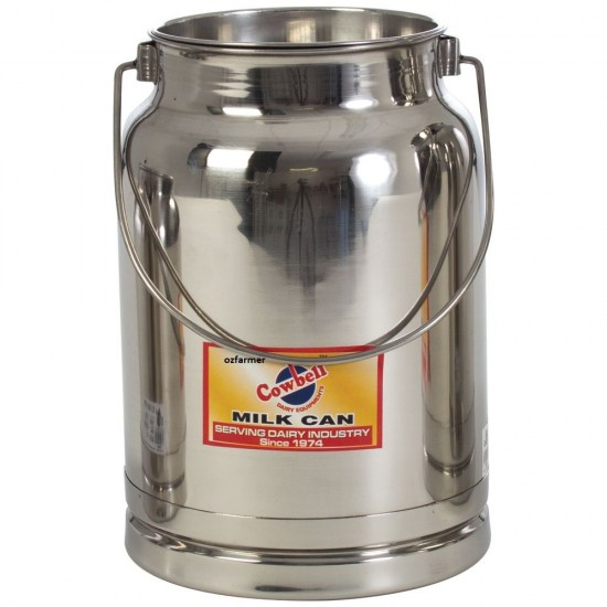 2 litre Milk Billy Can with push on sealable lid