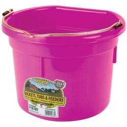 Plastic Bucket Flat Back 8L