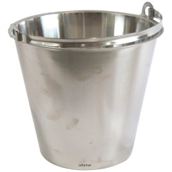 Bucket Stainless Graduated 12 or 15 litre Farming Supplies