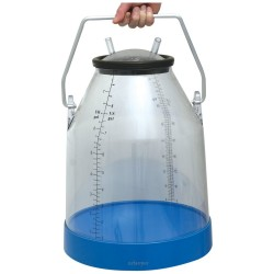 Clear 32l Herd Test Bucket