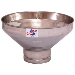 Cowbell Stainless Steel Milk Strainer Funnel