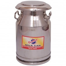 Milk Billy Can 20 litre with umbrella lid