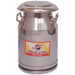 Milk Billy Can 20  or 40 litre with umbrella lid