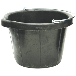 Recycled Rubber Bucket 10l or 14l
